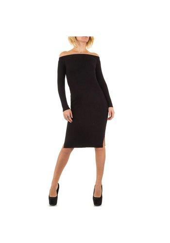 Jcl Paris Damen Kleid von Jcl Paris - black