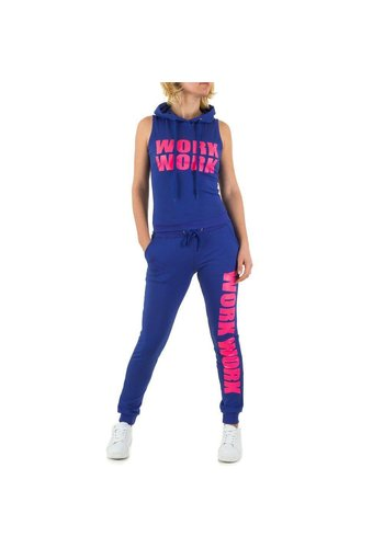 Emma&Ashley Design Dames Sportkleding - Royal blauw