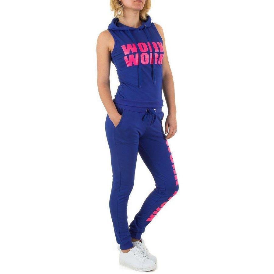 Dames Sportkleding - Royal blauw