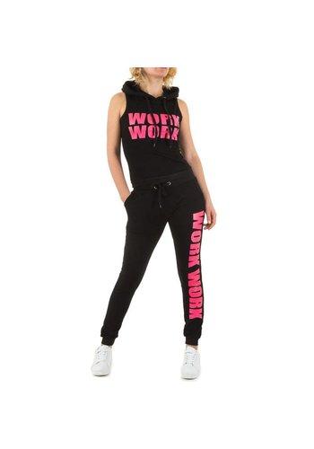 Emma&Ashley Design Dames Sportkleding - Zwart