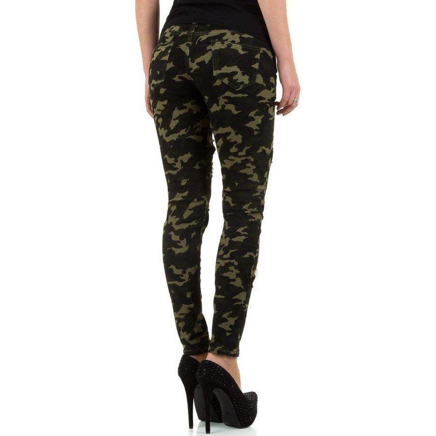 Damen Jeans von Noemi Kent - armygreen