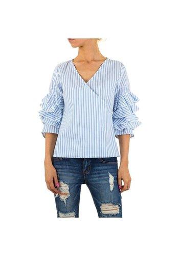 Neckermann Dames blouse - blauw