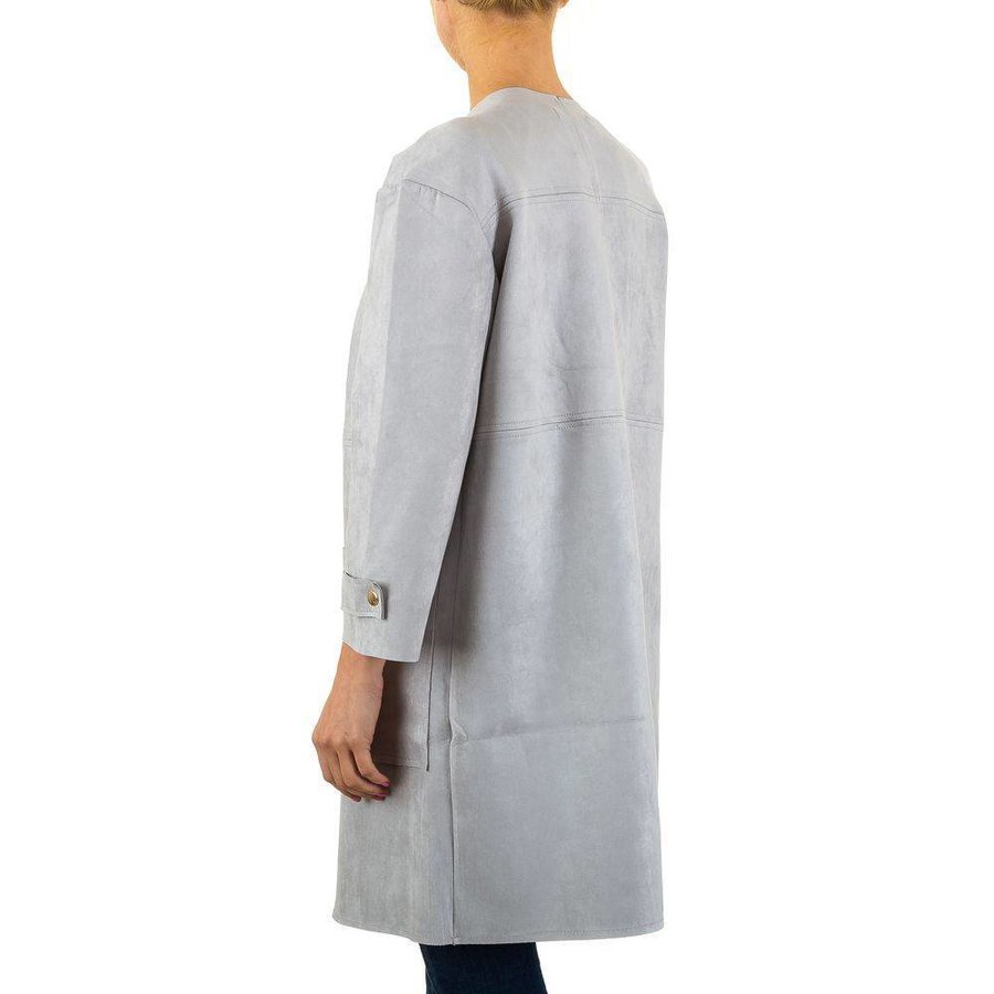 Damen-Mantel - grey