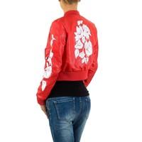 Damen-Jacke-red