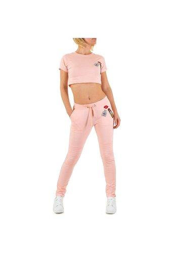 Emma&Ashley Design Dames Sportkleding - roze