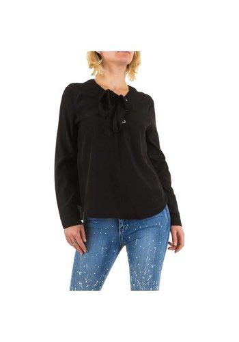 Noemi Kent Dames blouse - zwart
