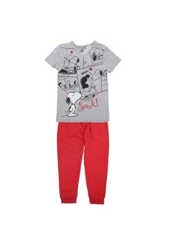 Snoopy Kinder Pyjama- Rood