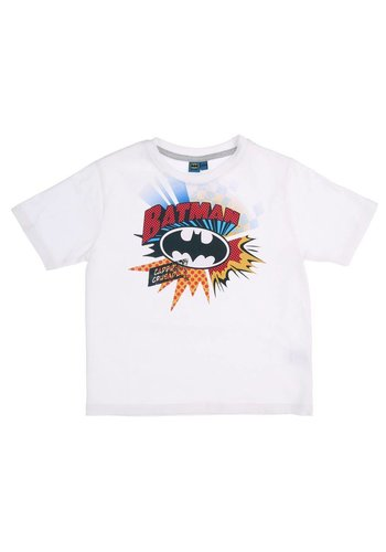 Batman Kinder T-Shirt - Wit