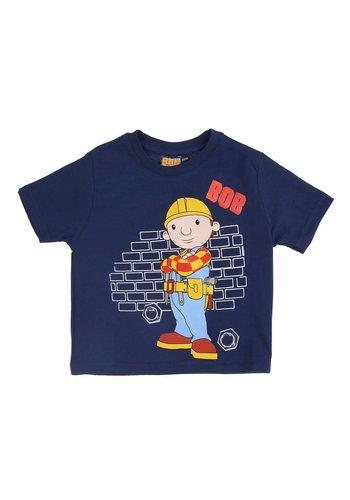 BOB DE BOUWER Kinder T-Shirt - DK.Blauw
