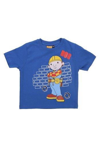 BOB DE BOUWER Kinder T-Shirt - Blauw