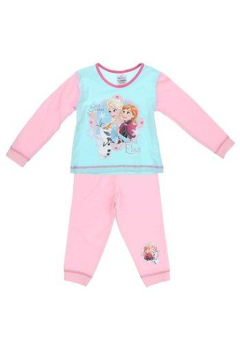 Disney Frozen Kinder  pyjama Blauw Roze