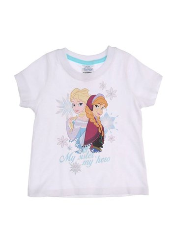 Disney Frozen Kinder T-Shirt -Wit