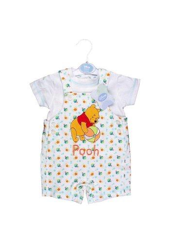 Disney Winnie the Pooh Kinder broek shirt Wit