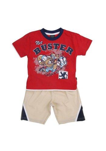 Urban Storm Kinder Shorts/Shirt van Urban Storm - Rood
