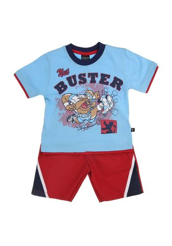 Urban Storm Kinder Shorts/Shirt van Urban Storm - Blauw