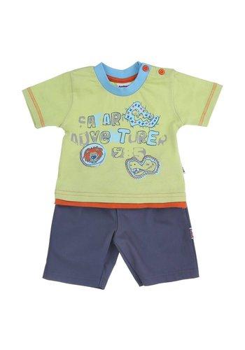 aadvark Kinder Shorts/Shirt van Aadvark - Groen