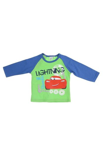Disney Cars Kinder Langarmshirt - green
