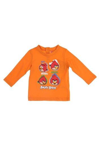Angry Birds Kinder Langarmshirt - orange