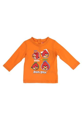 Angry Birds Kinder sweater oranje
