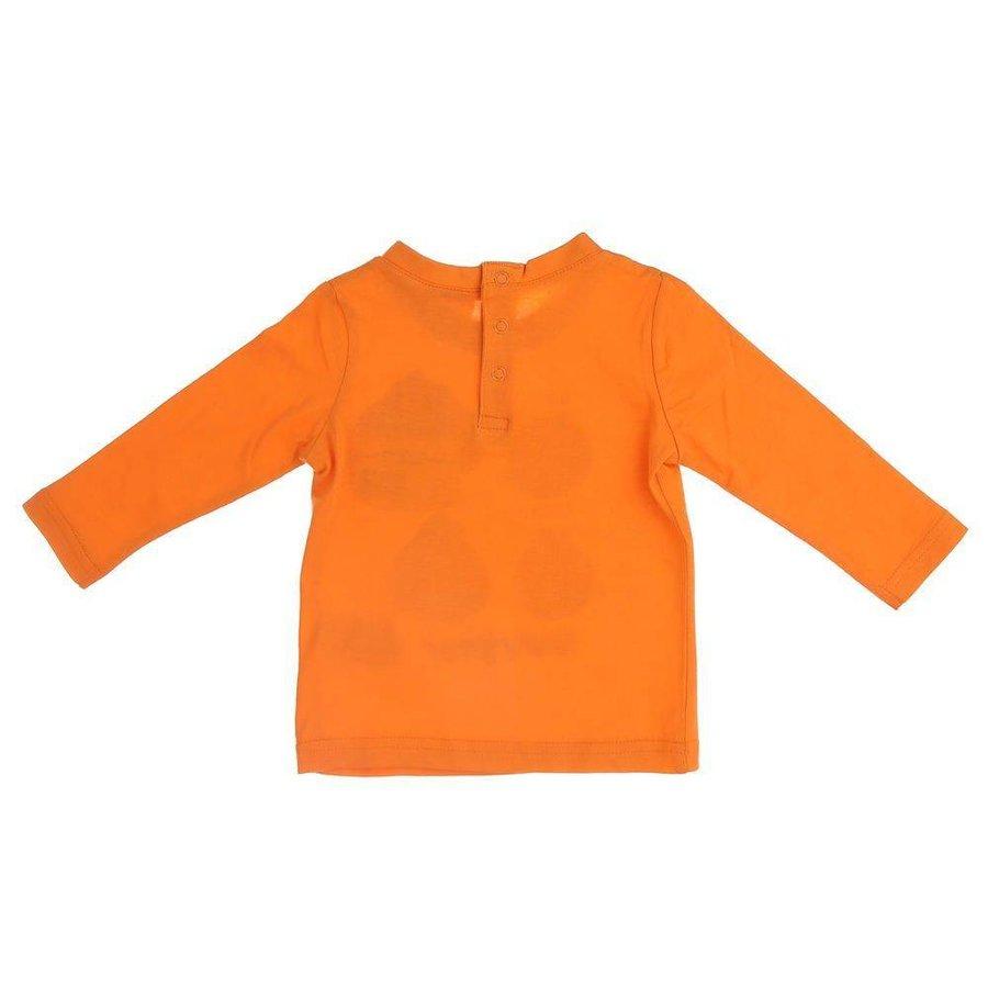 Kinder Langarmshirt - orange