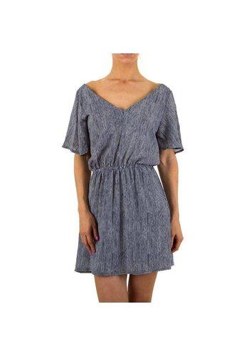 Emma&Ashley Design Damen-Kleid-von-Emma&-Ashley-Gr.-S/M-blue