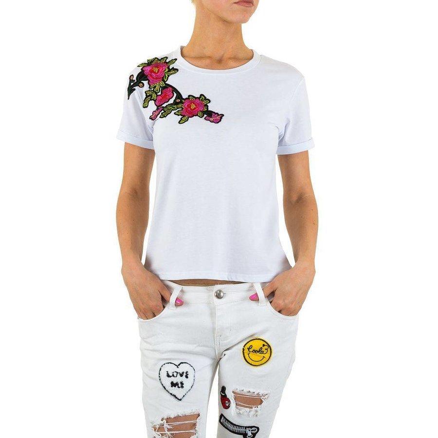 Damen-Shirt-Gr.-S-white