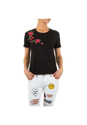 Neckermann Dames T Shirt Zwart