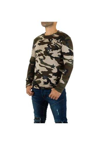 UNIPLAY Heren Sweater van Uniplay - camouflage