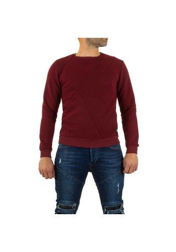 UNIPLAY Heren Sweater van Uniplay - bordeaux