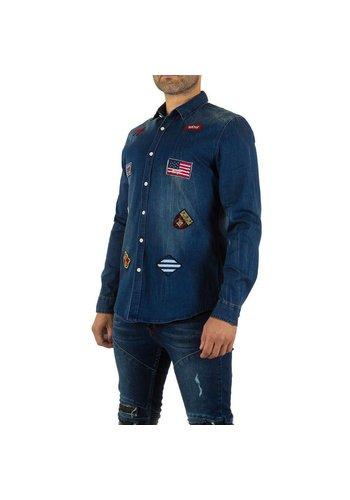 UNIPLAY Heren Hemd van Uniplay - Blauw