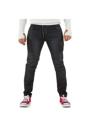 UNIPLAY Heren Jeans van Uniplay - Zwart