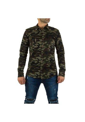UNIPLAY Heren Hemd van Uniplay - camouflage