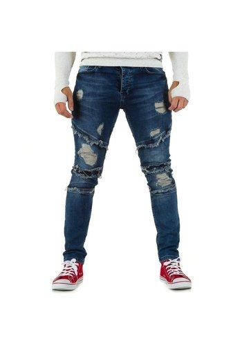 UNIPLAY Heren Jeans van Uniplay - Blauw
