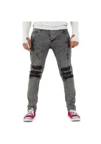 UNIPLAY Heren Jeans van Uniplay - Grijs