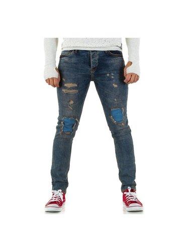 UNIPLAY Heren Jeans van Uniplay - tint blauw