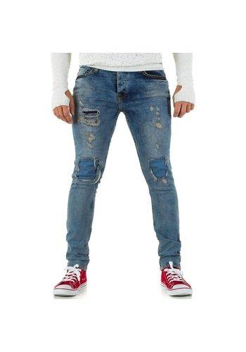 UNIPLAY Heren Jeans van Uniplay - Licht Blauw