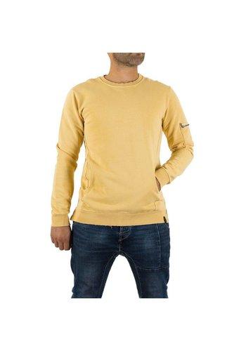 UNIPLAY Heren Sweatshirt van Uniplay - Sand