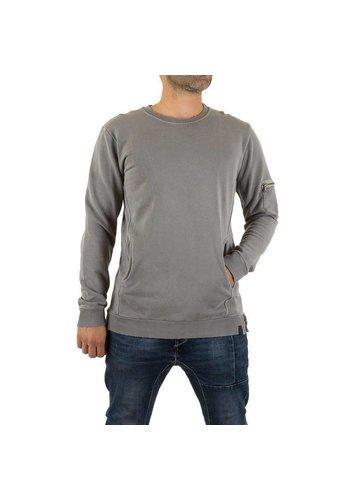 UNIPLAY Heren Sweatshirt van Uniplay - Grijs