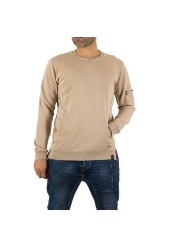 UNIPLAY Heren Sweatshirt van Uniplay - beige