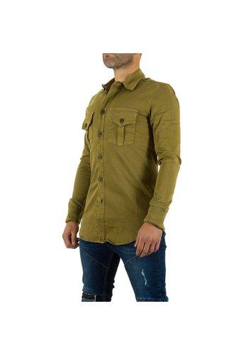 UNIPLAY Heren Hemd van Uniplay - khaki