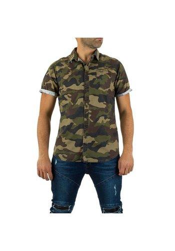Bread & Buttons Heren overhemd van Bread&Buttons -  camouflage