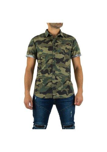 Bread & Buttons Herren Hemd von Bread&Buttons - armygreen