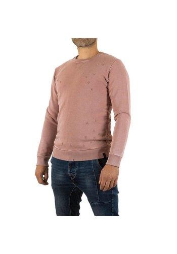 UNIPLAY Heren Sweatshirt van Uniplay - zalm