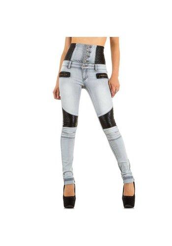 Laulia Dames Jeans van Laulia - grijs