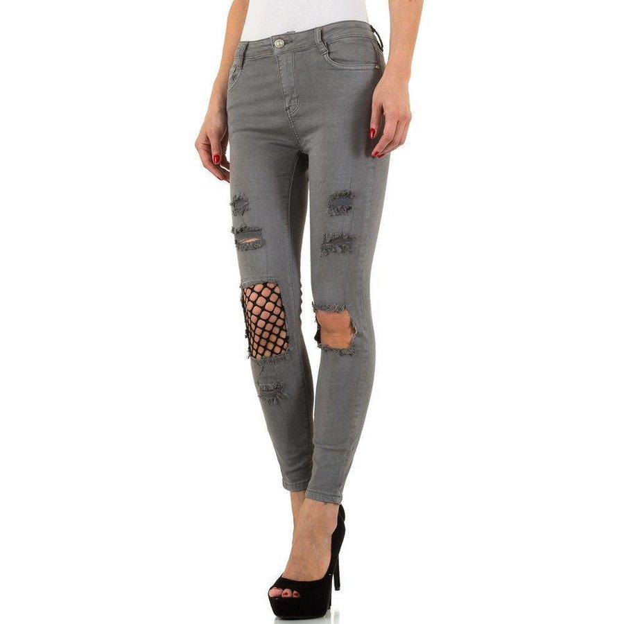 Dames Jeans van Laulia - Grijs