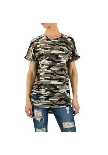 Noemy Kent Dames Shirt van Noemy Kent  - camouflage