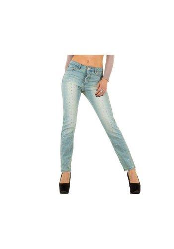 Blue Rags Dames Jeans van Blue Rags  - L.Blauw