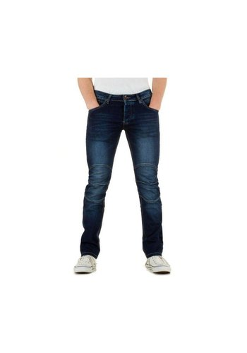 WANGUE Heren Jeans van Wangue - Blauw