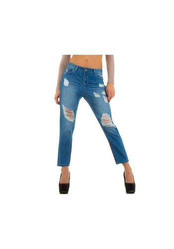 R.Display Dames Jeans van R.Display Jeans - D. Blauw