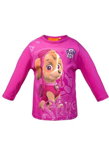 Paw Petrol Kinder Shirt - Roze